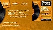 Catherine Sauvage - Il n'y a pas d'amour heureux - feat. Jacques Loussier