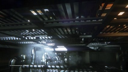 In The Vents de Alien Isolation
