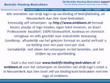 Kleding bedrijfskleding bedrukken Nieuwerkerk Aan Den IJssel