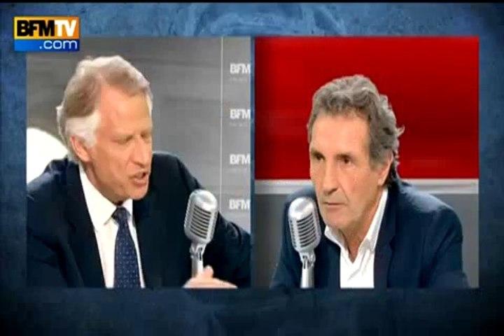 De Villepin : « L'État Islamique, c'est l'enfant monstrueux de la politique occidentale »