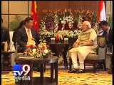 PM Narendra Modi in conversation with Chinese President Xi Jinping in Hotel Hyatt, Ahmedabad - Tv9 Gujarati