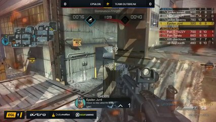 EGL SS : Epsilon vs Outbreak : Quarter Finals - Map 1