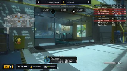 EGL SS : Epsilon vs Outbreak : Quarter Finals - Map 2