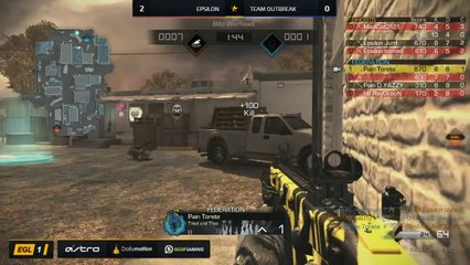 EGL SS : Epsilon vs Outbreak : Quarter Finals - Map 3