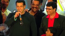 Salman Khan Launches Trailer & Music Of Sanngto Aika - Marathi Movie - Sachin Pilgaonkar