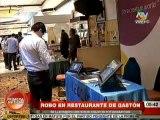 Cámara de seguridad capta robo en restaurante de Gastón Acurio