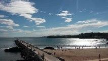 PAISAJE: Puerto y playa de Candás, Asturias 17 sept 2014
