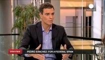 Föderalismus gegen Unabhängigkeitsbestrebungen - das Rezept des spanischen Sozialisten Pedro Sánchez