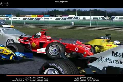 Formula One 2005 Crashes [GAME] rFactor