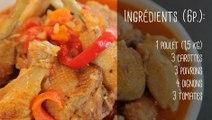 Recette du poulet basquaise - Gourmand