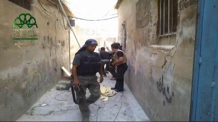 معركة تطهير حي تشرين بـ #دمشق من عصابات الاسد