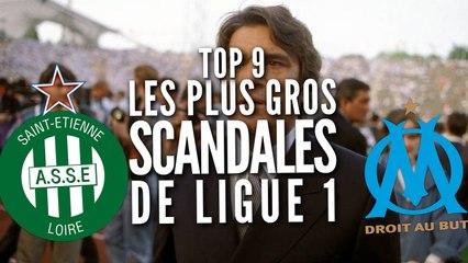 Top 9 des plus gros scandales de Ligue 1