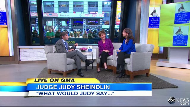 Judge Judy on 'What Would Judy Say'.