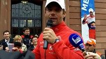 Haguenau : les adieux de Sébastien Loeb au rallye WRC, 2013.