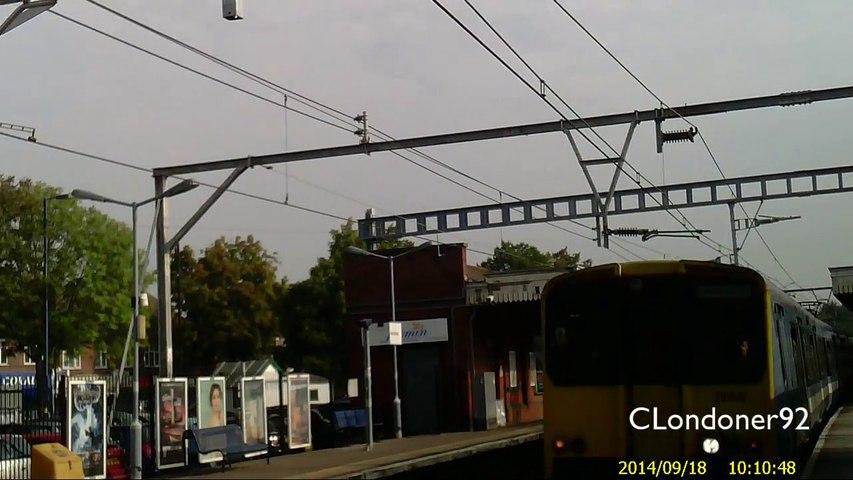 National Rail Abellio Greater Anglia Ilford to Stratford Class 315