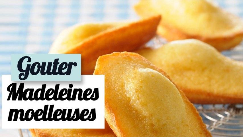 Madeleines moelleuses - Recette facile pour le goûter
