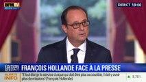 François Hollande s'exprime sur le retour de Nicolas Sarkozy