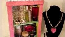D.I.Y Makeup/Jewellery Organizer