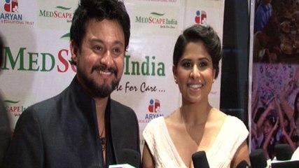 Sai Tamhankar And Swapnil Joshi Promote Pyar Vali Love Story