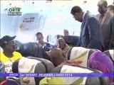 1er Départ des Pélérins Béninois pour le Hadj 2014