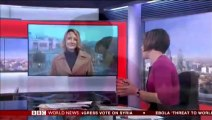 BBC Sally Bundock - Scotland Votes NO