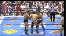 Hiroyoshi Tenzan, Satoshi Kojima, Jushin Thunder Liger & Tiger Mask vs. Yuji Nagata, Manabu Nakanishi, BUSHI & Sho Tanaka (NJPW)
