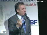 Intervention de François BAYROU (UDF) - Secondes Assises Nationales des Berbères de France