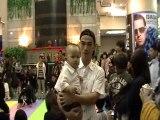 2010/04/04《爬行比賽開始@台北地下街》
