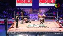 La Máscara & Rush vs Negro Casas & Shocker © for the CMLL World Tag Team Championship