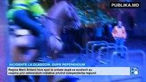 Incidente violente la Glasgow între unionişti şi separatişti. Regina Marii Britanii face apel la unitate