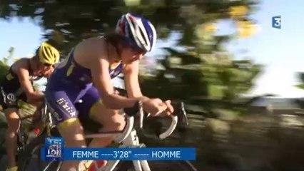 Triathlon audencia La Baule : la course élite