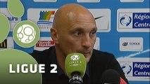 Conférence de presse Tours FC - US Orléans (4-3) : Olivier PANTALONI (TOURS) - Olivier FRAPOLLI (USO) - 2014/2015