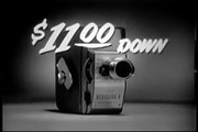 1957 HARRIET NELSON KODAK MOVIE CAMERA COMMERCIAL ~ WITHOUT A LOGO PASTED ON THE VIDEO