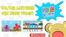 Splat! Lets Count from 1 to 5! A simple numbers video for kids, preschool, kindergarten, toddlers