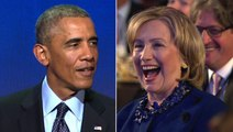 """Obama: Hillary Clinton has """"that post-administration glow"""""""