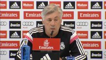 "4e j. - Ancelotti : ""On doit encore progresser"""