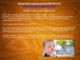 Vaughan Ontario Carpet Cleaning Specials