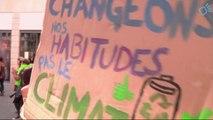 Manifestation Avaaz citoyens pour la protection du climat - Lyon 2014