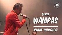 Punk Ouvrier Didier Wampas