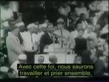 Martin Luther King - I have a dream (sous-titres français).