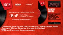 Orchestre de la Société des concerts du Conservatoire, Hans Rosbaud, Michel Sénéchal,  - Platée