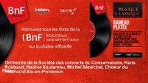 Orchestre de la Société des concerts du Conservatoire, Hans Rosbaud, Nadine Sautereau, M - Platée