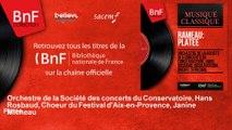 Orchestre de la Société des concerts du Conservatoire, Hans Rosbaud, Choeur du Festival  - Platée