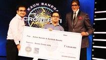 Amitabh Bachchan With The Kaun Banega Maha Crorepati 7 CRORE Winners