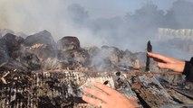 Incendie à Javron-les-Chapelles