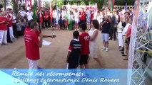 Remise des récompenses, Challenge International Denis Ravera, Sport Boules, Monaco 2014