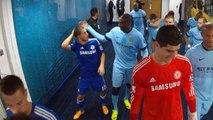 Eden Hazard neye uğradığını şaşırdı - FUNNY Yaya gives Hazard a clip round the ear