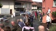 Chute chessel manche 2 Championnat Suisse pocket-bike Elite