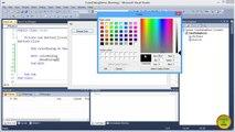 VB.NET ColorDialog Control Tutorial in Urdu