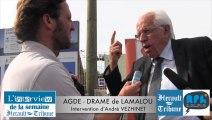 LAMALOU-LES-BAINS - 2014 - DRAME DE LAMALOU LES BAINS - Intervention d'André VEZINHET